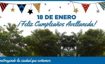 Feliz cumpleaños Avellaneda!!!