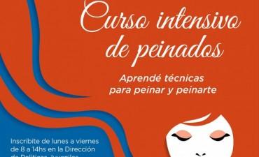 Curso intensivo de peinados en Avellaneda