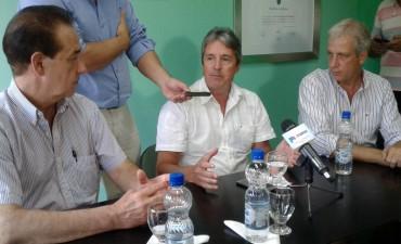 El intendente de Avellaneda se reunió con el Ministro Garibay