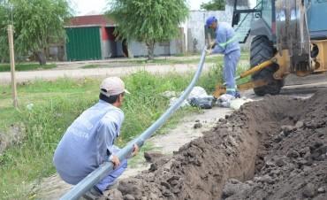 Tendido de red de agua para Barrio América y Loteo Belén en Reconquista
