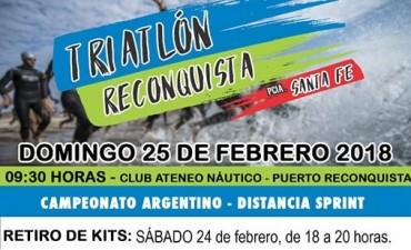 Triatlón Reconquista 2018