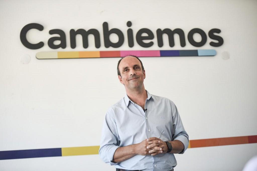"""José Corral: """"Quiero ser gobernador para que los santafesinos vivamos más seguros"""""""