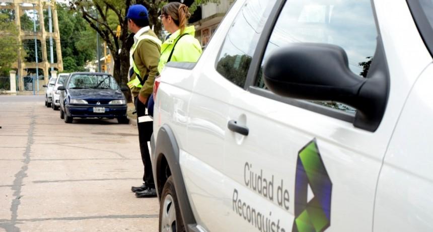 10 vehículos retenidos durante los controles del fin de semana