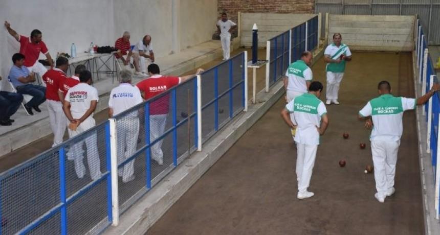 La Liga rural de bochas jugará el Torneo aniversario de Avellaneda