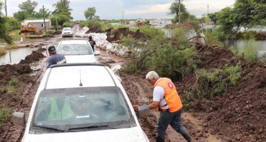 Baja levemente la cantidad de evacuados a 189 personas