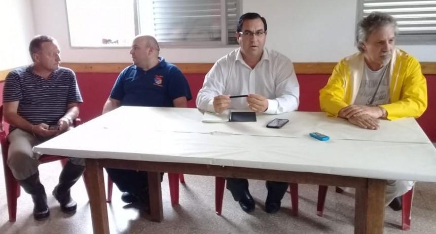 Vallejos presidió la reunión de Protección Civil