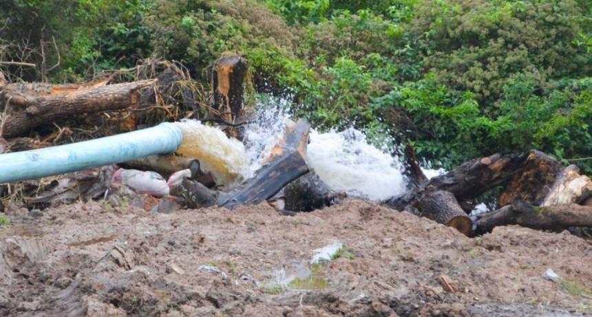 Hay 29 personas evacuadas en Reconquista por la emergencia hídrica