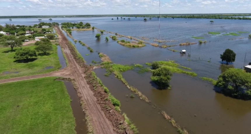 Mas de 10 millones para localidades afectadas por la emergencia hídrica