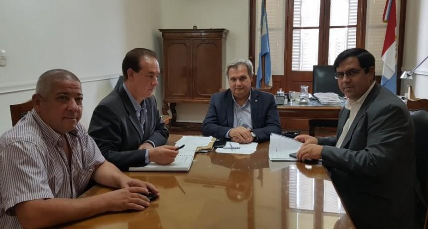 Vallejos se reunió con Ministro de Gobierno provincial