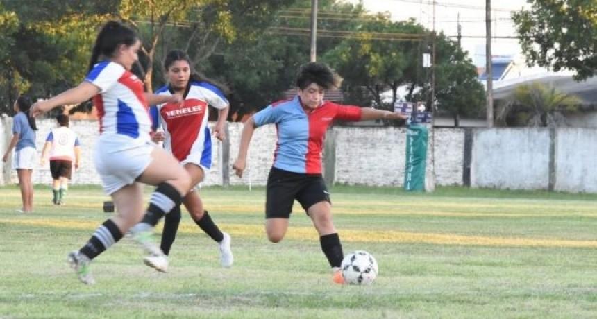 Fútbol femenino: tuvo lugar la primera jornada