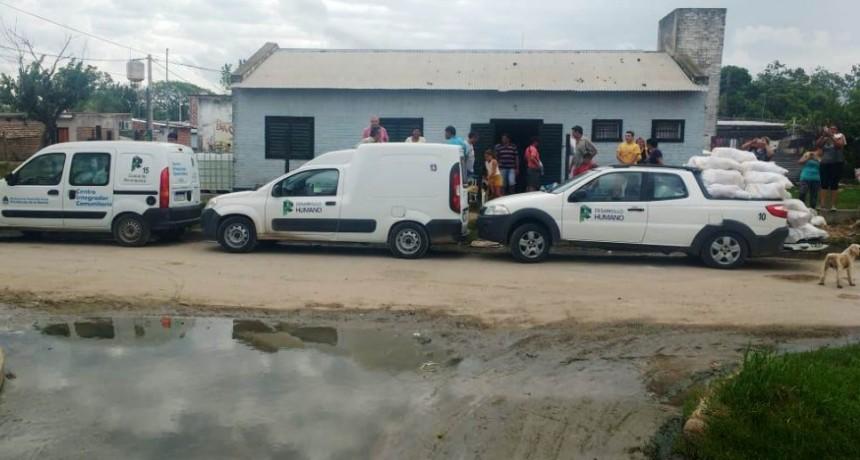 Continúa la ayuda a familias afectadas por las inundaciones
