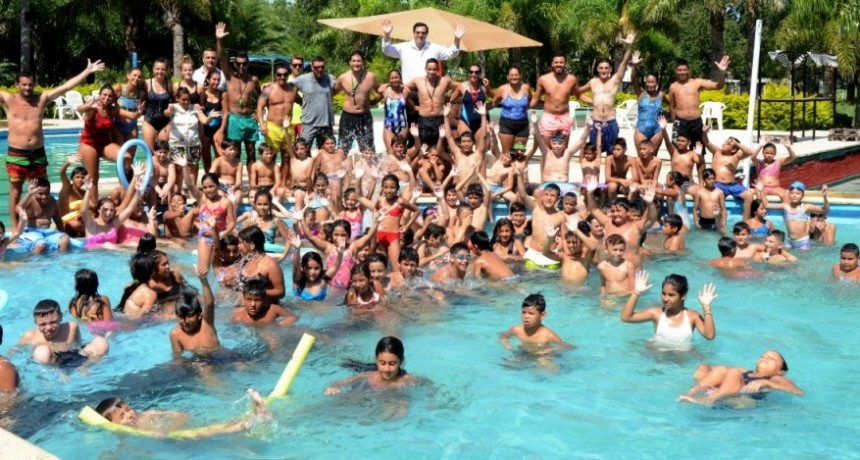 Cierre de las colonias de vacaciones municipales en Reconquista