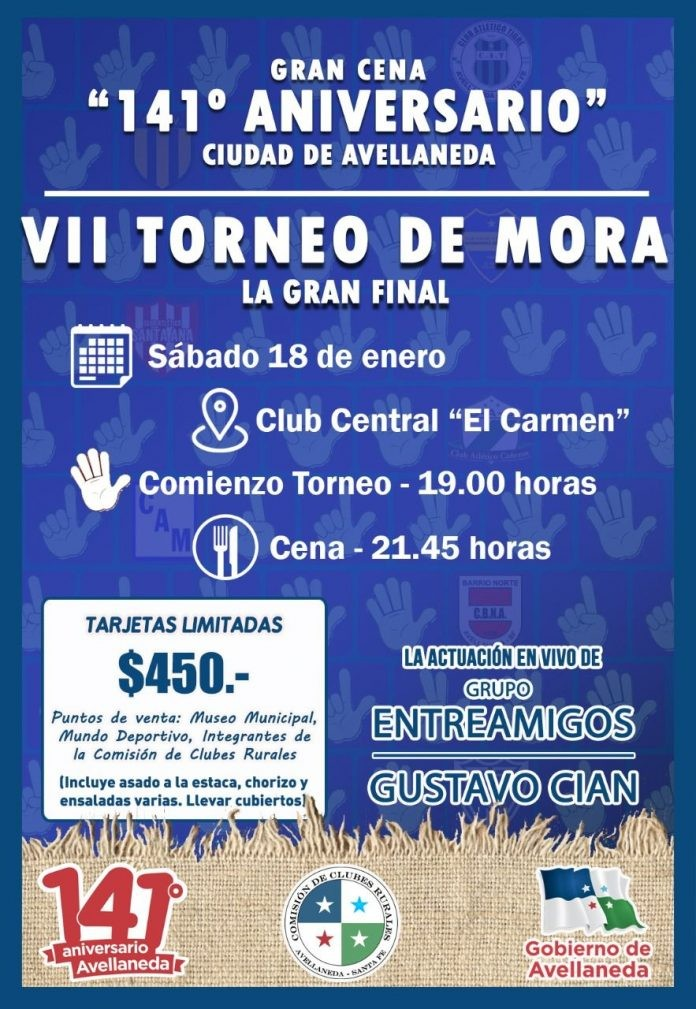 VII Torneo de Mora en Avellaneda