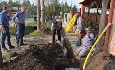 Habilitan un nuevo tramo de la red de gas en Avellaneda