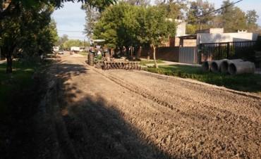 Trabajos integrales en barrios de Reconquista