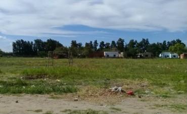 Están usurpando terrenos en barrio La Loma