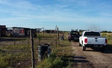 Enfrentamiento en Loteo Belen: un muerto y siete detenidos