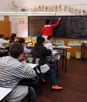 Polémica propuesta: controles antidoping para los docentes