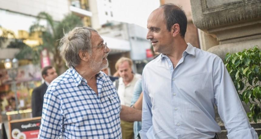 """Luis Brandoni: """"En Santa Fe hay una mirada esperanzada"""""""