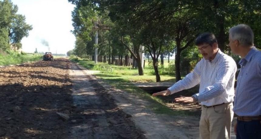Continúan las obras del acceso norte al Parque Industrial y de Servicios de Avellaneda