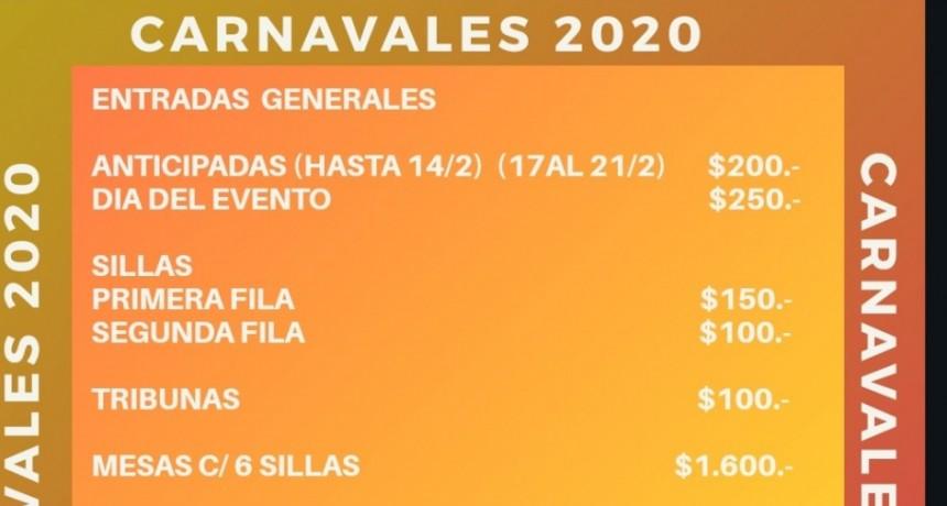 Carnavales 2020 en Reconquista