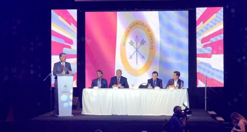 Encuentro de gobernadores de Chaco, Santa Fe y Santiago del Estero