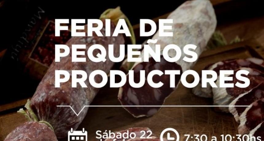Feria de pequeños productores en Avellaneda