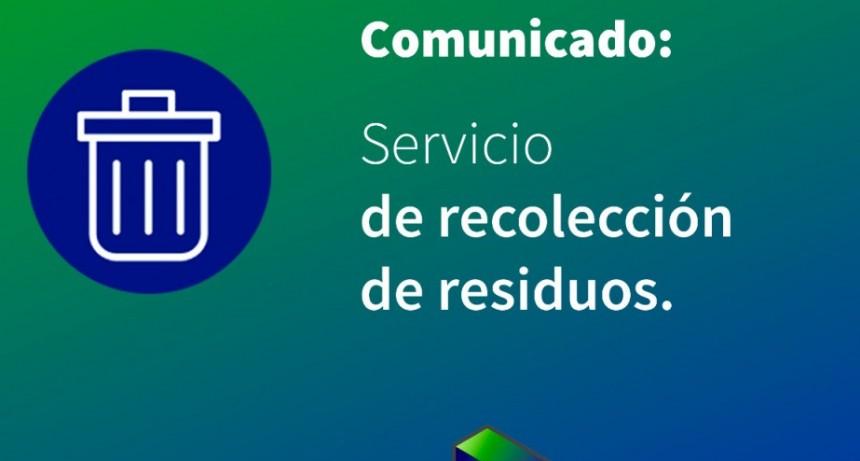 Recolección de residuos en Reconquista