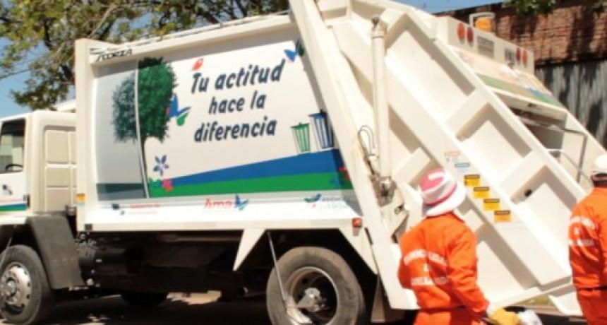 Recolección de residuos en Avellaneda