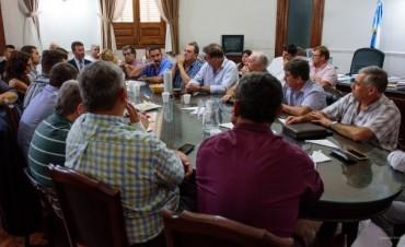 Paritarias municipales: primera reunión sin cifras