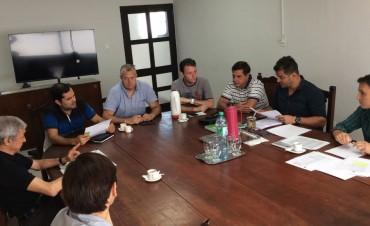 Reunión de trabajo con comerciantes de la Ciudad
