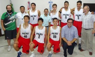 Selección de Básquet Sub 17 de Perú en Reconquista