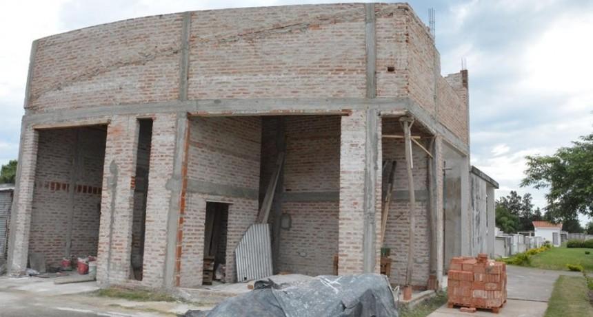 Avanzan las obras para el Crematorio municipal en Avellaneda