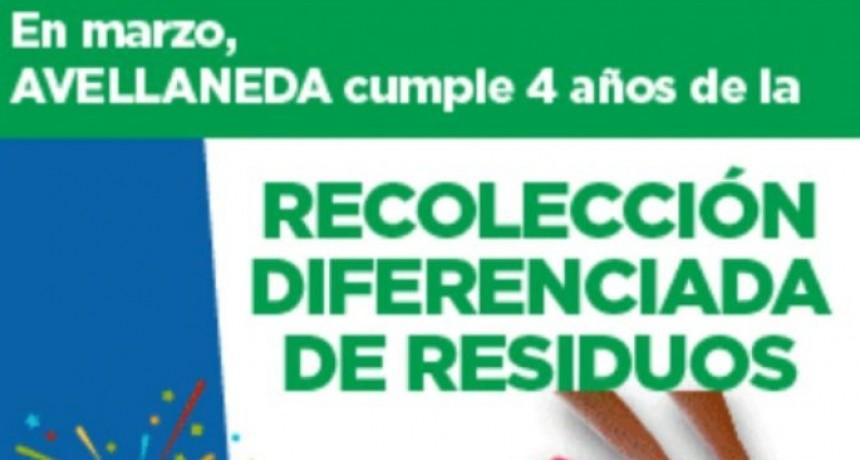 Avellaneda continúa apostando a la recolección diferenciada de residuos