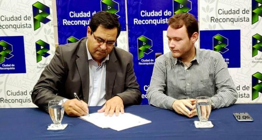 Enri Vallejos retomó la intendencia de Reconquista