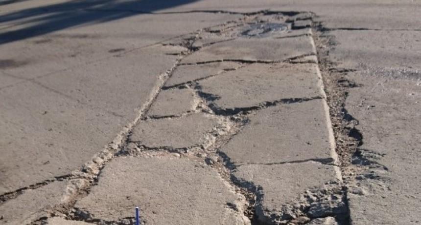 Reconquista pide la reparación de los baches realizados por Aguas Santafesinas