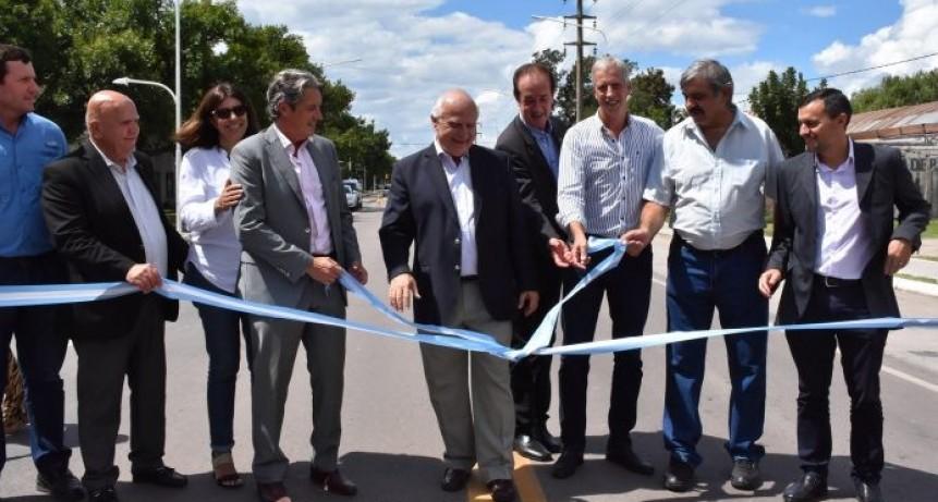 Inauguraron el acceso al Parque Industrial por Calle 21