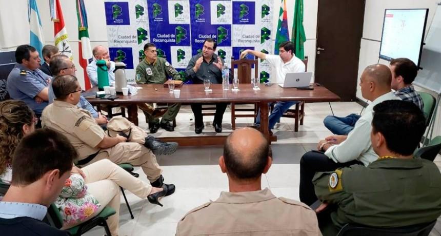 Se reunió el Consejo de Seguridad en Reconquista