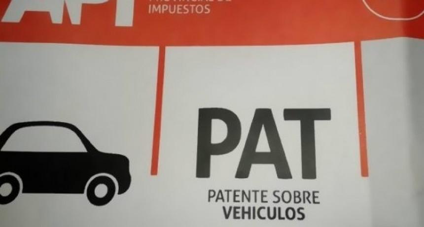 Patentes: se distribuirán a domicilio