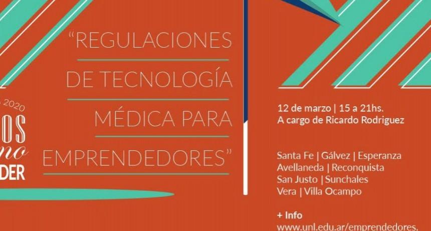 """Curso: """"Regulaciones de Tecnología Médica para Emprendedores"""""""