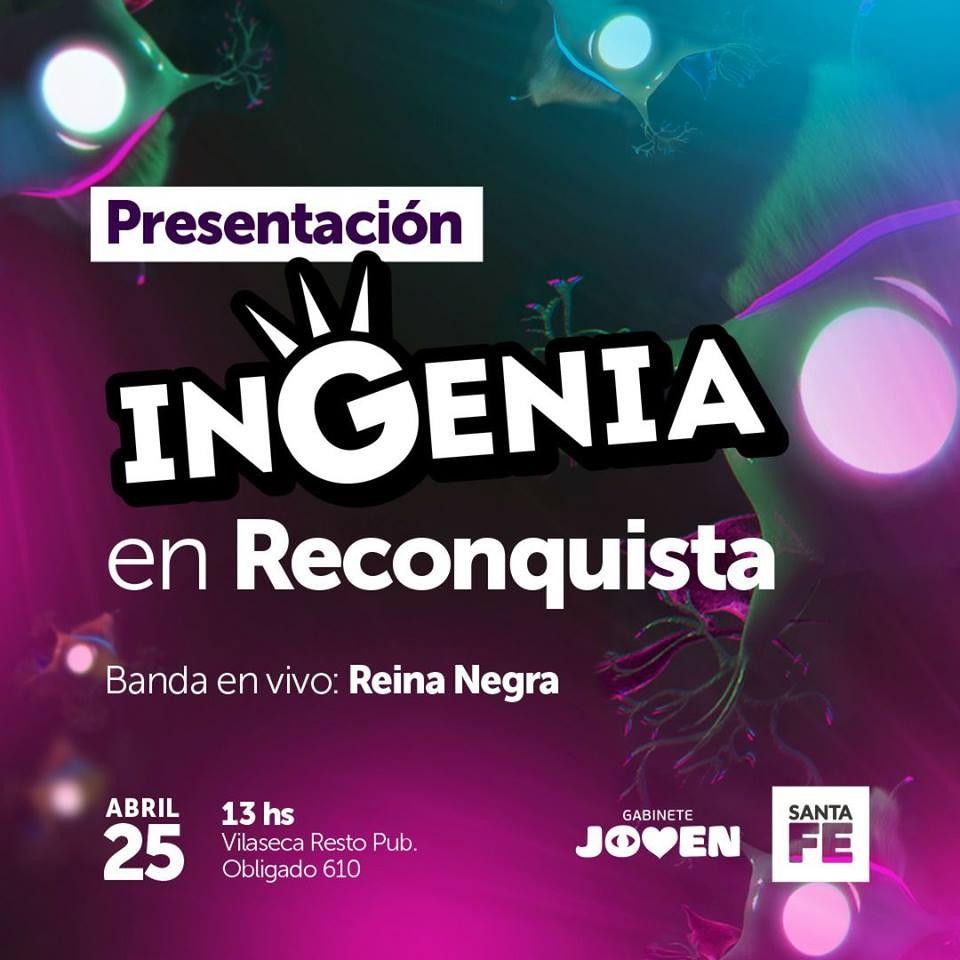 Presentan Ingenia en Reconquista
