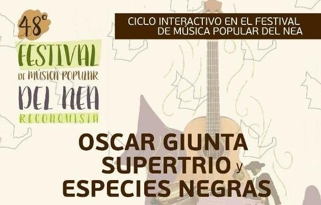 Master Class de batería con Oscar Giunta