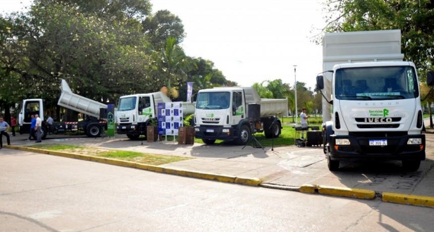 Nuevos camiones para servicios públicos de Reconquista
