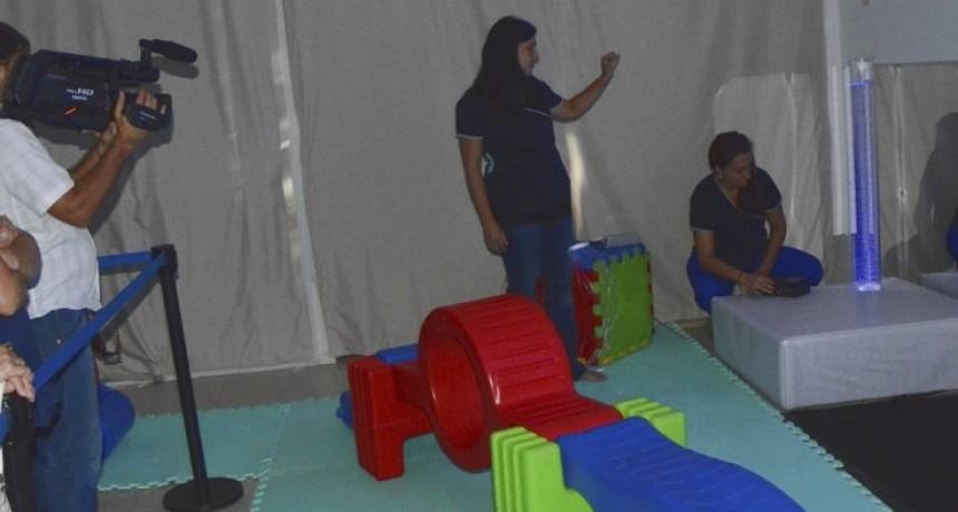 Avellaneda inauguró la primera sala multisensorial del norte santafesino