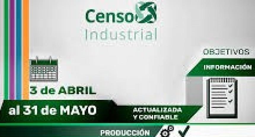 Continúa el Censo Industrial en la región