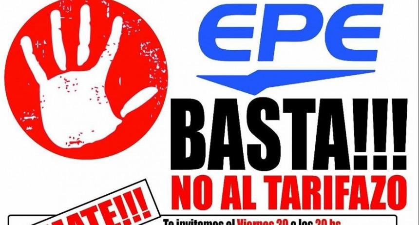 EPE Basta No al Tarifazo
