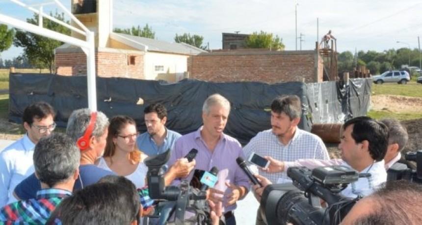 Avanzan las obras en Barrio Cooperación de Avellaneda