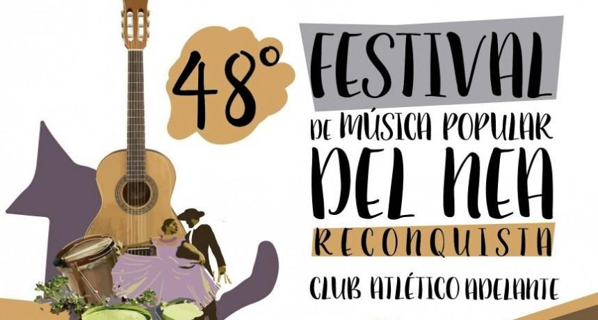 Se viene la 48º Festival de Música Popular del NEA