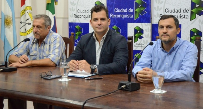 Convenio para el desarrollo de la actividad pesquera en Reconquista