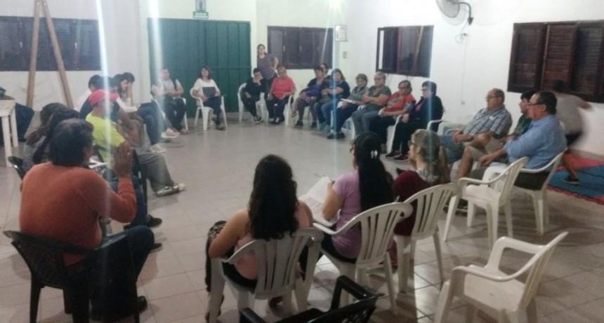 Planificación Participativa en barrios Sarmiento y Este